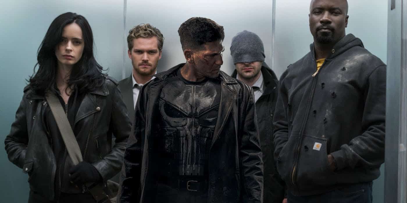 The Defenders och The Punisher.