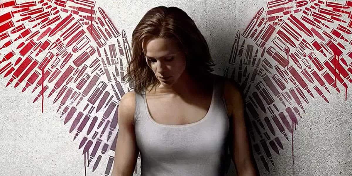 Affisch till Peppermint med Jennifer Garner.