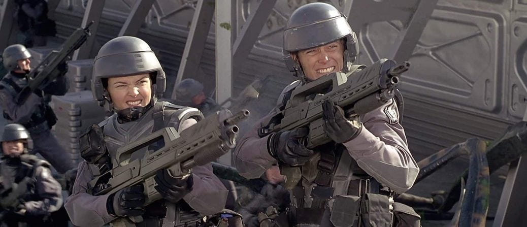 Soldater i Starship Troopers
