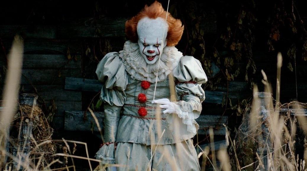På bilden ser vi clownen Pennywise
