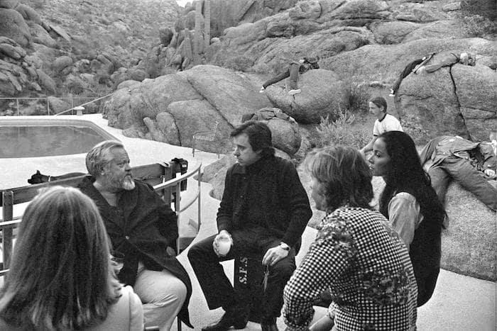 "Orson Welles i dokumentären ""They'll Love Me When i'm Dead"""