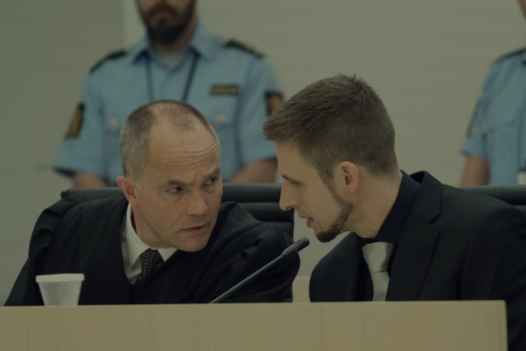 Anders Danielsen Lie som Anders Behring Breivik i Netflix-filmen 22 July