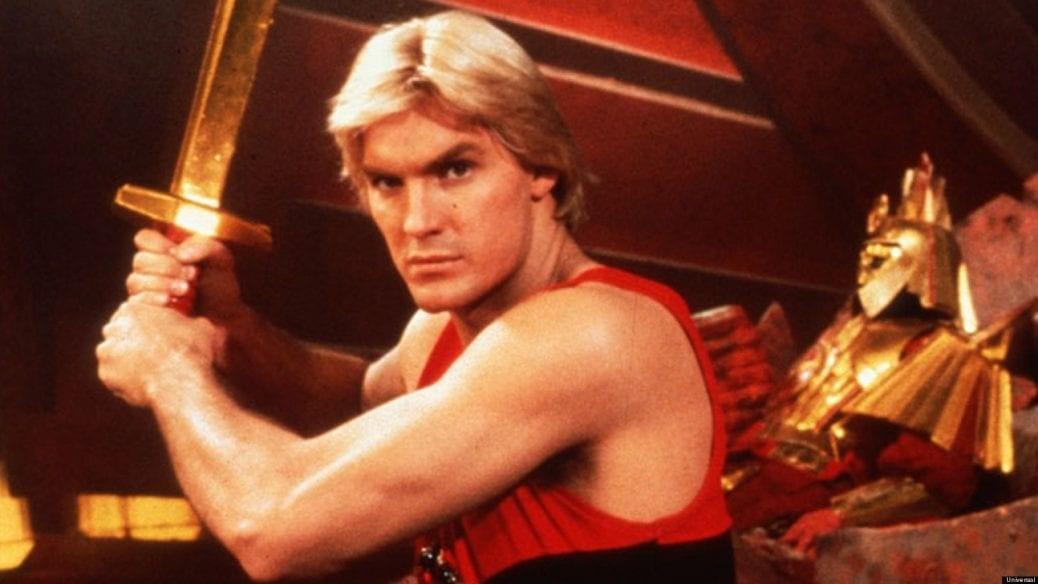 En bild på Flash Gordon