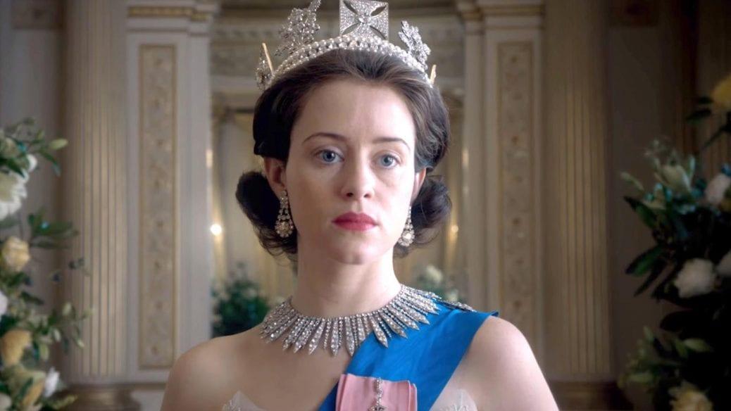 Claire Foy som drottning Elizaneth II.