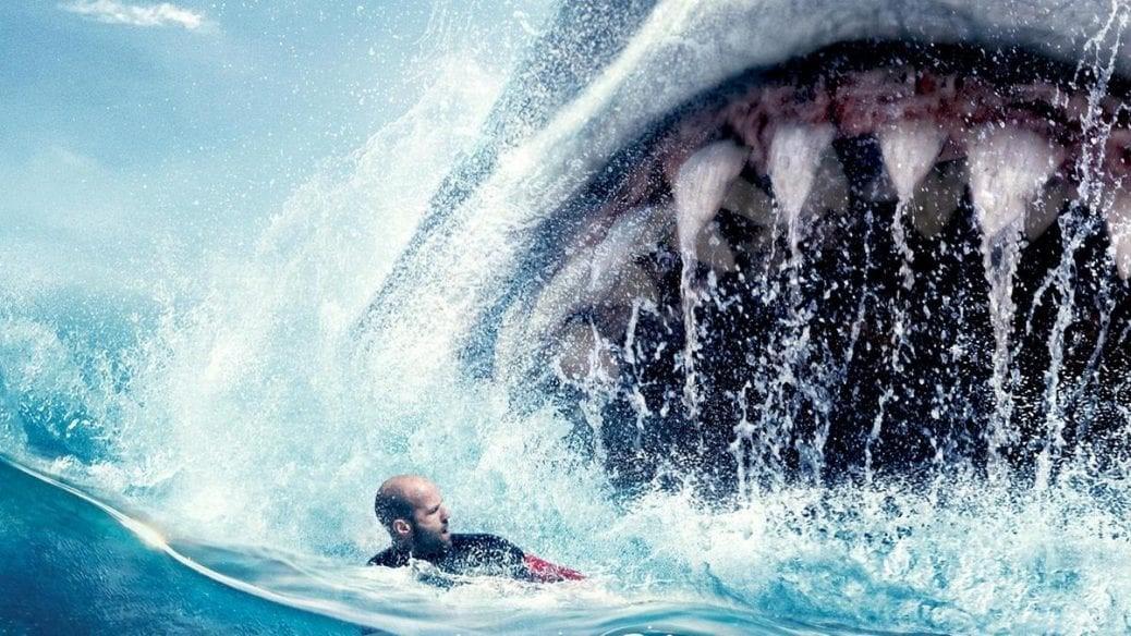En bild på hajmonstret