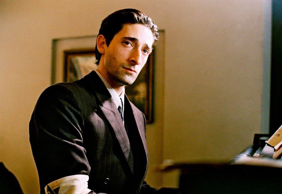 Adrien Brody i Pianisten.