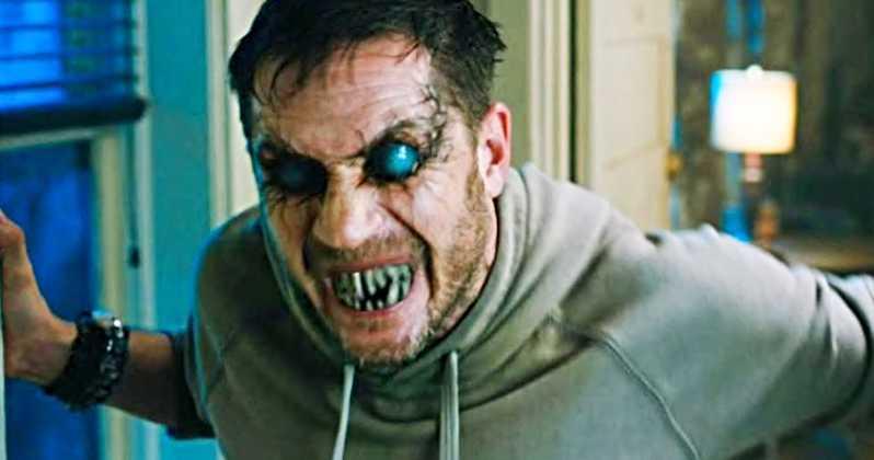 Tom Hardy förvandlas till Venom