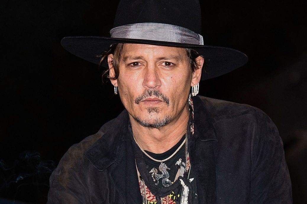På bilden får vi se Johnny Depp