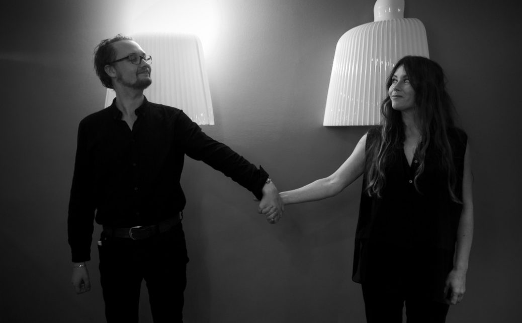 Eric Diedrichs och Anna Odell.