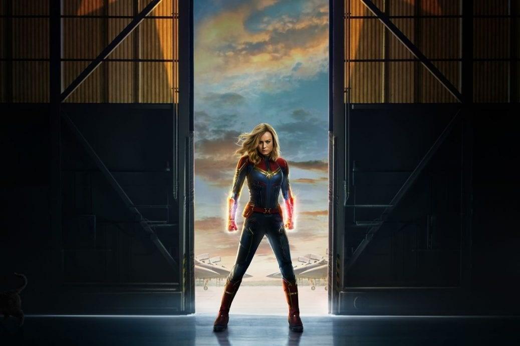 Bild på Brie Larson som Captain Marvel