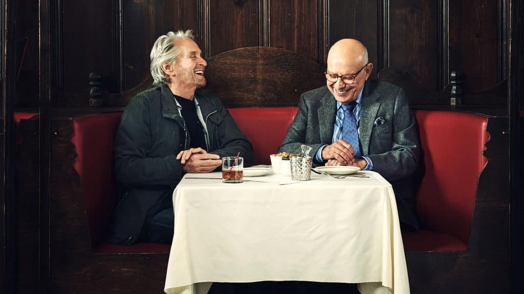Michael Douglas och Alan Arkin i The Kominsky Method