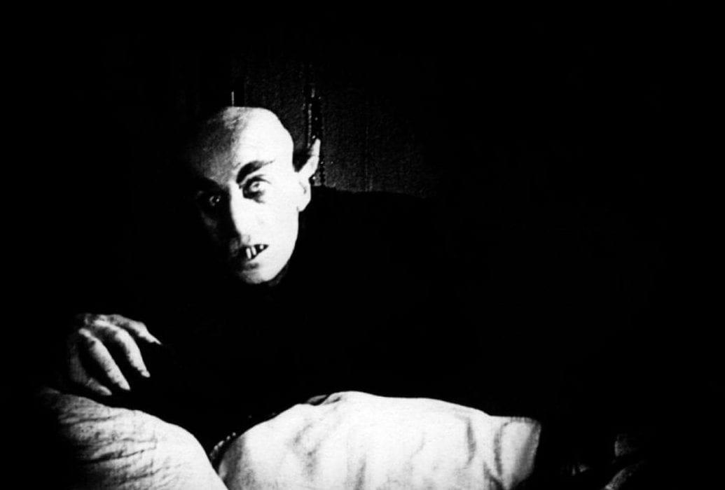 Max Schreck i F.W. Murnaus Nosferatu från 1922.
