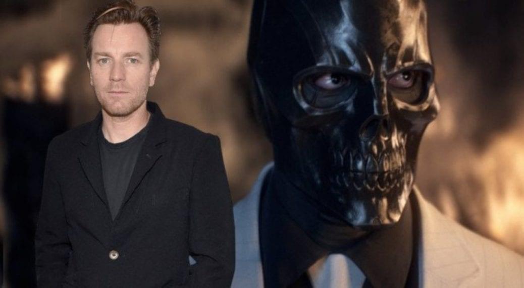 På bilden ser vi McGregor och hans nya karaktär Black Mask