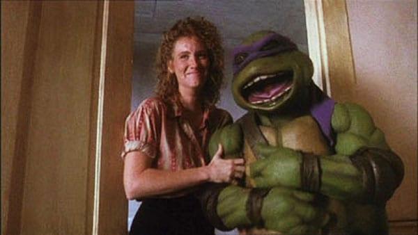 Donatello skrattar