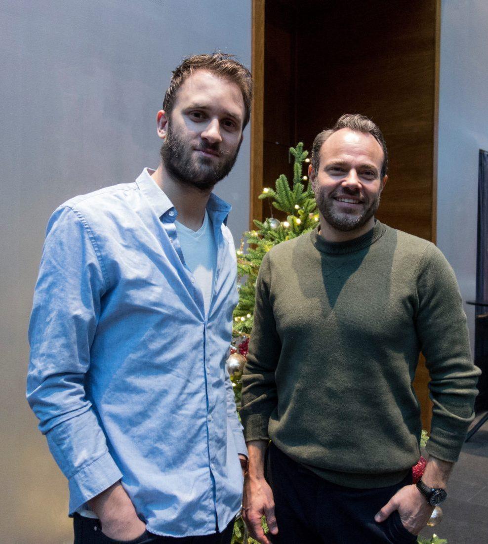 Filmtopps David Lindahl med David Hellenius.