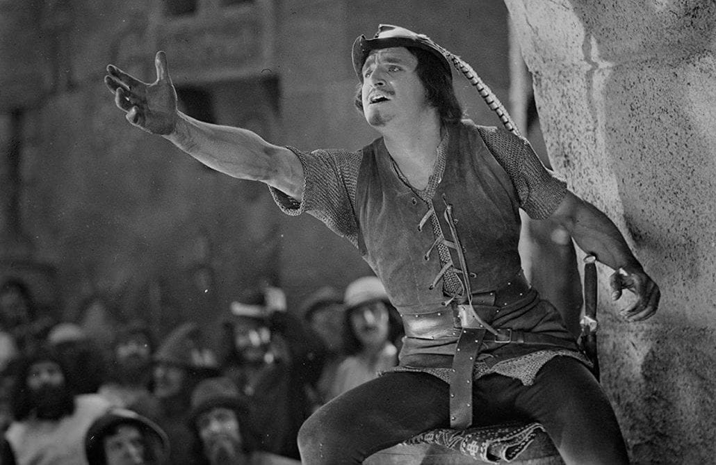 "Douglas Fairbanks i ""Robin Hood""."