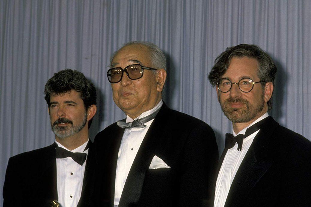 George Lucas, Akira Kurosawa och Steven Spielberg