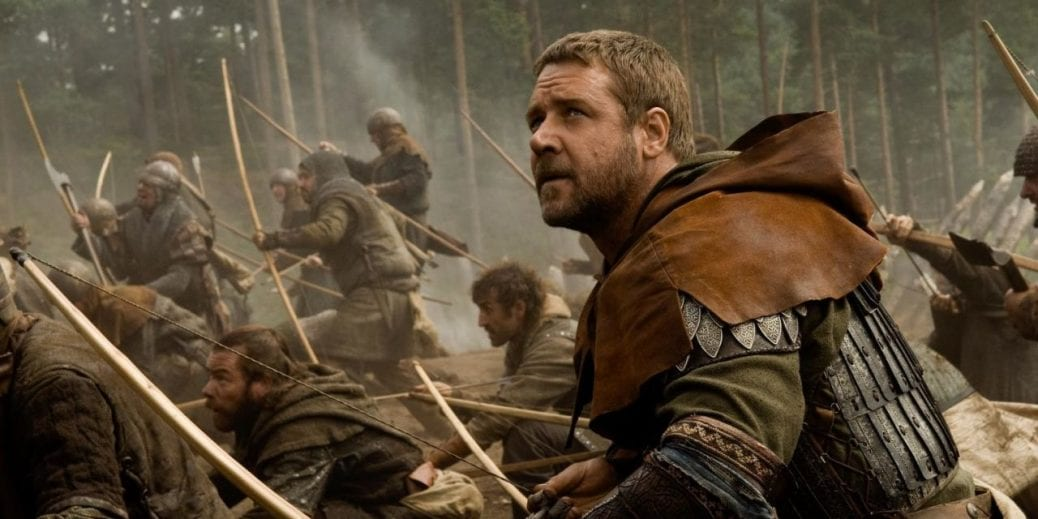 "Russell Crowe i ""Robin Hood""."
