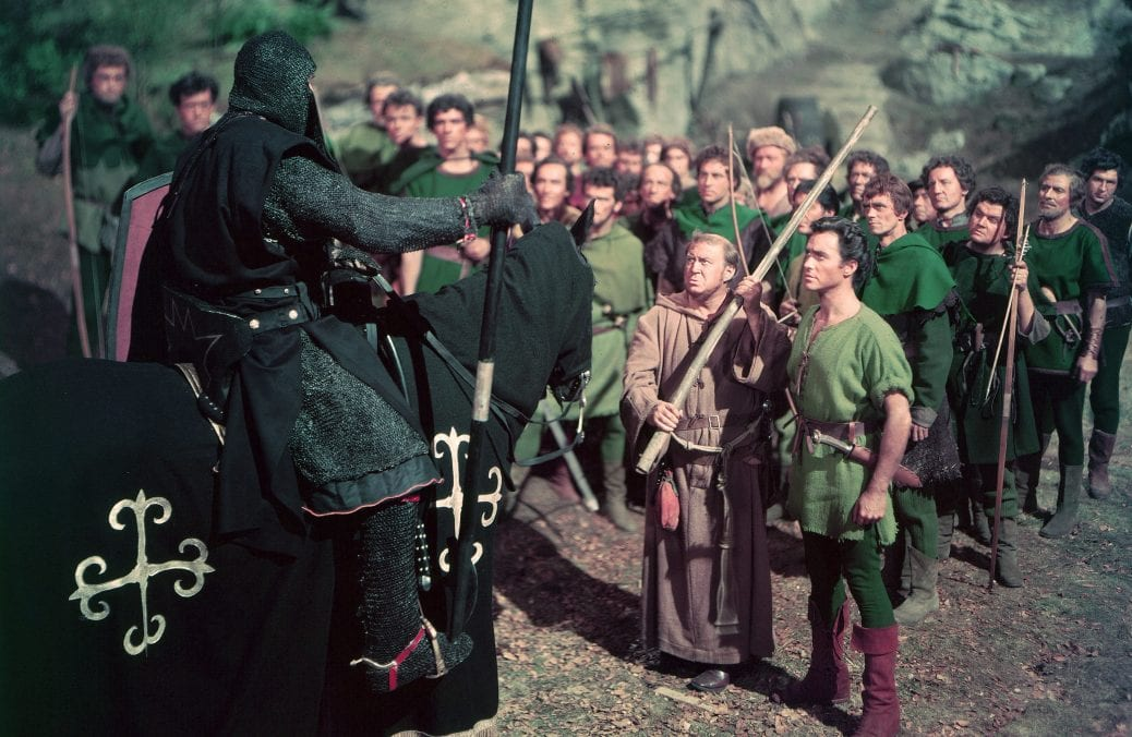 """Richard Tood i """"The Story of Robin Hood and His Merrie Men""""."""