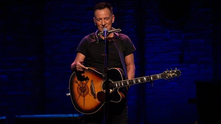 Bruce Springsteen i Springsteen on Broadway