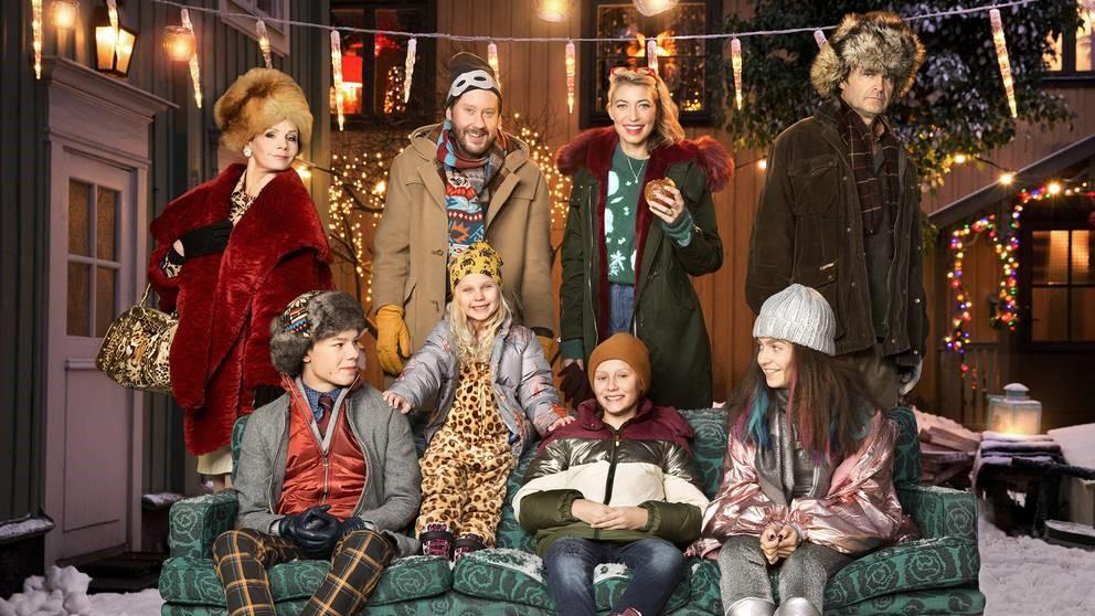 Ensemblen i årets julkalender