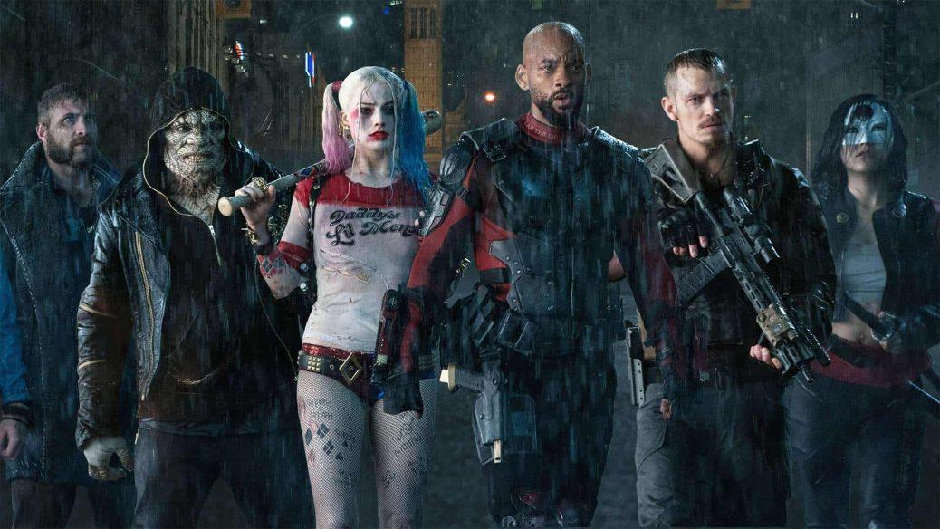 Antihjältarna i Suicide Squad.