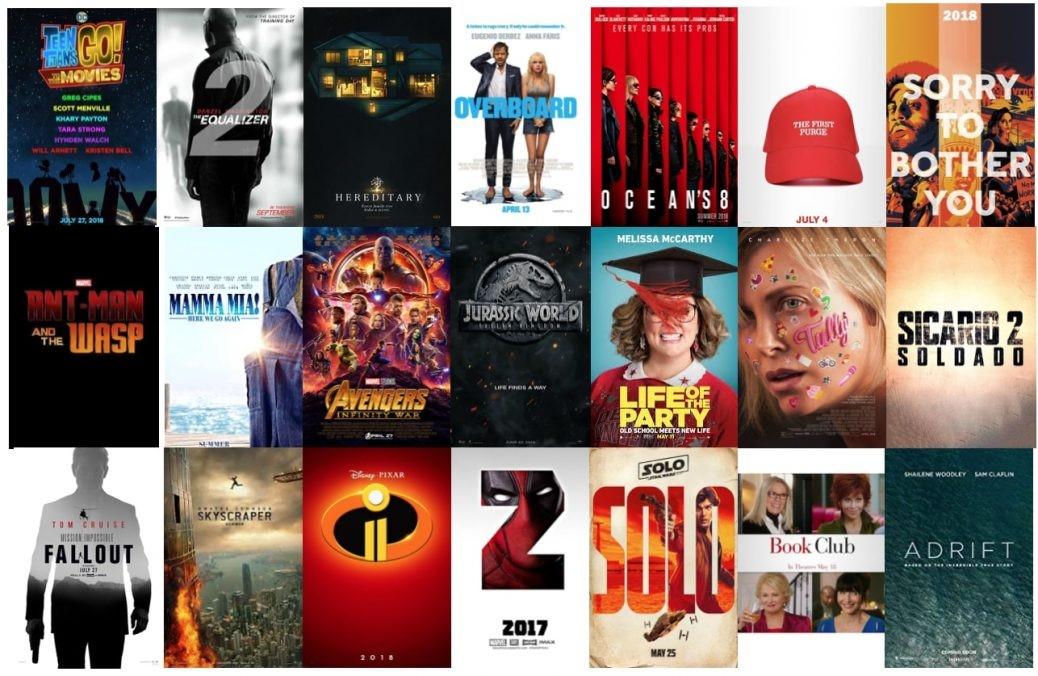 Filmer under 2018