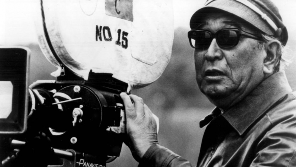 En bild på regissören Akira Kurosawa
