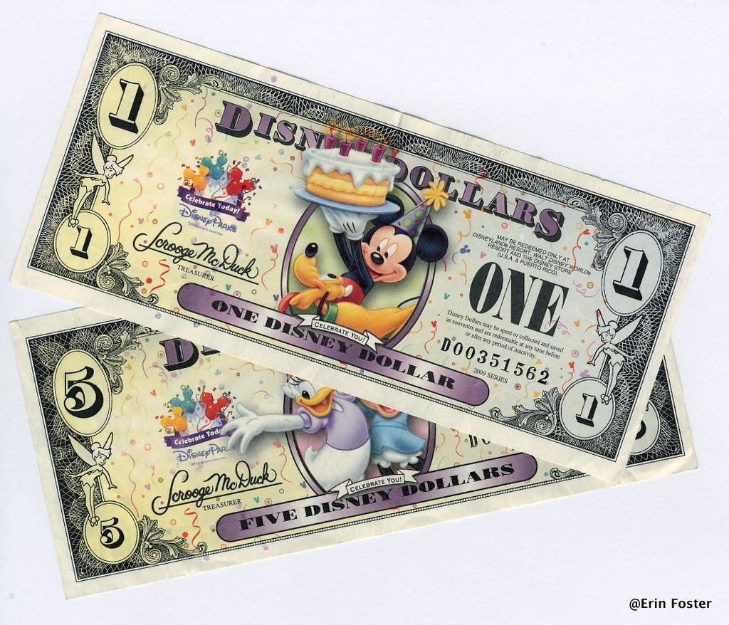 Mickey Mouse pengar