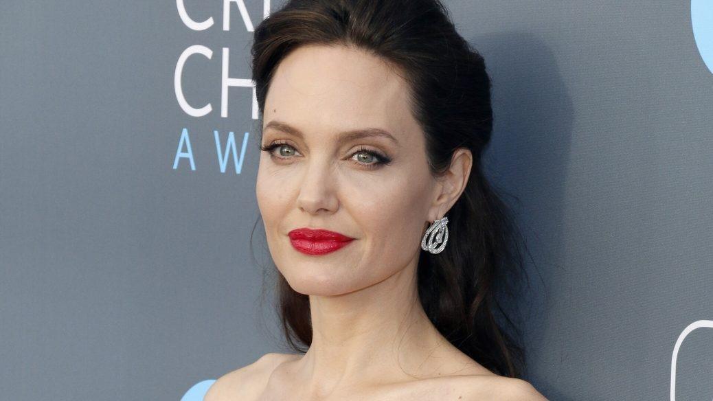 En bild på Angelina Jolie