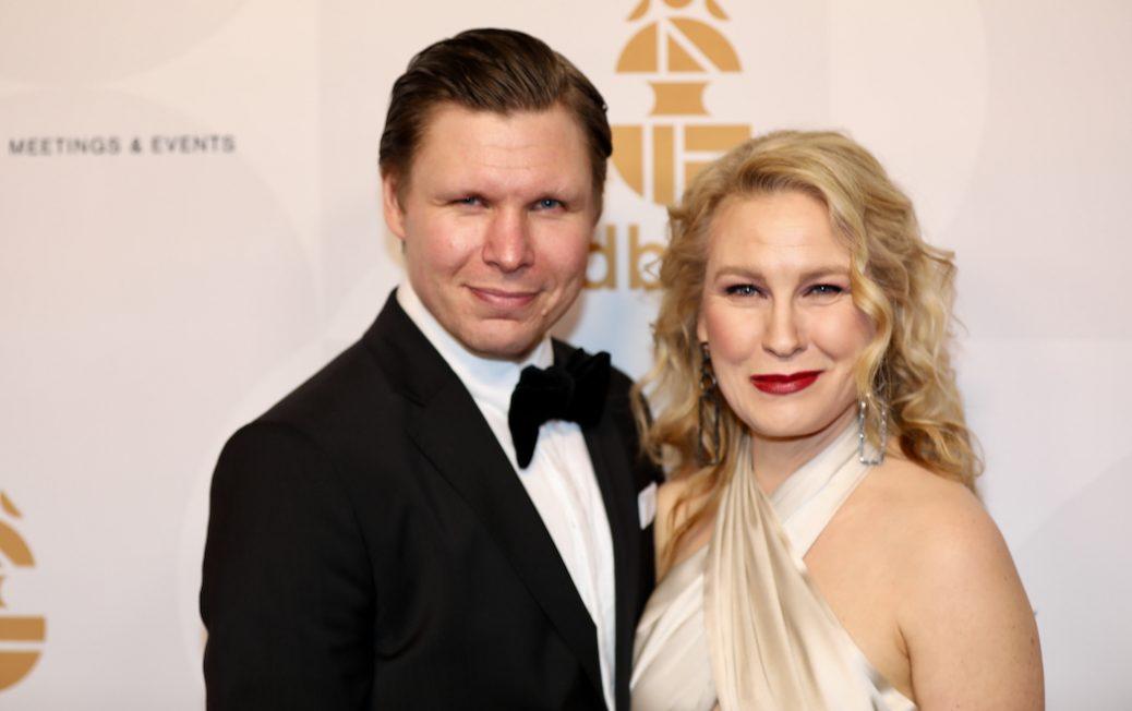 Eero Milonoff och Eva Melander.