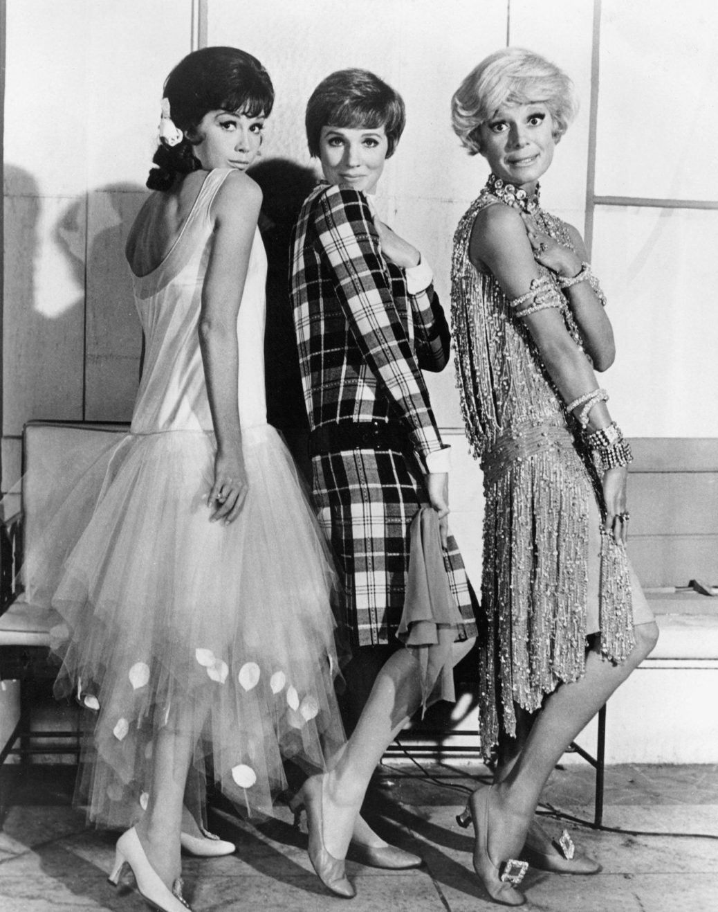 "Mary Tyler Moore, Julie Andrews och Carol Channing i ""Thoroughly Modern Millie""."