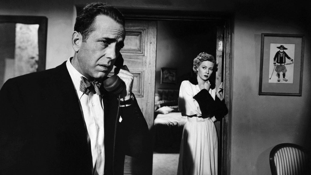 """Humphrey Bogart i """"In A Lonely Place""""."""