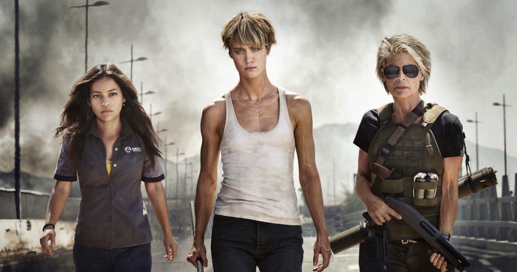 En bild på skådespelrna bakom Terminator 6