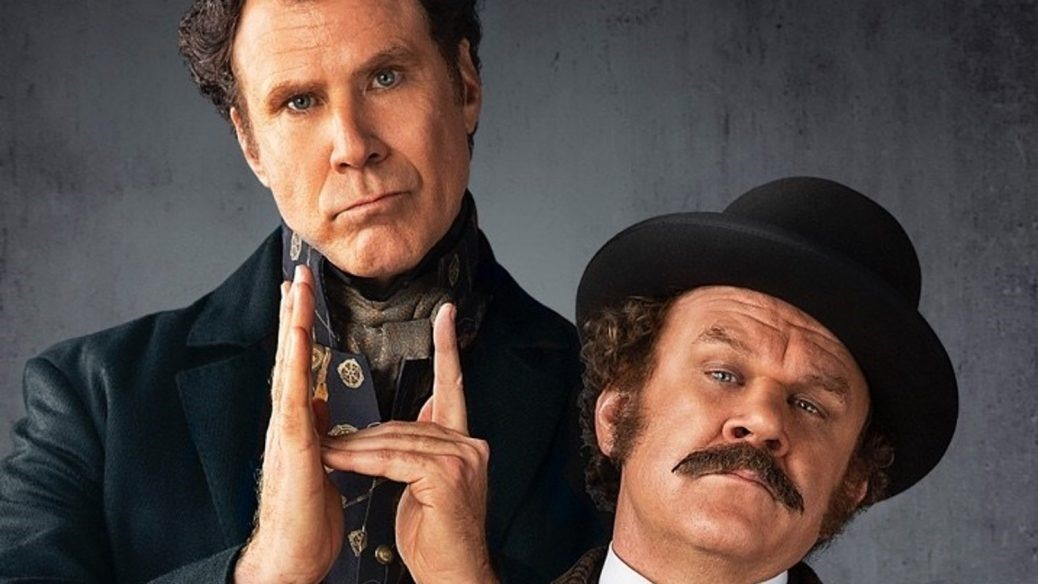 Will Ferrell och John C. Riley som Sherlock Holmes och John Watson.