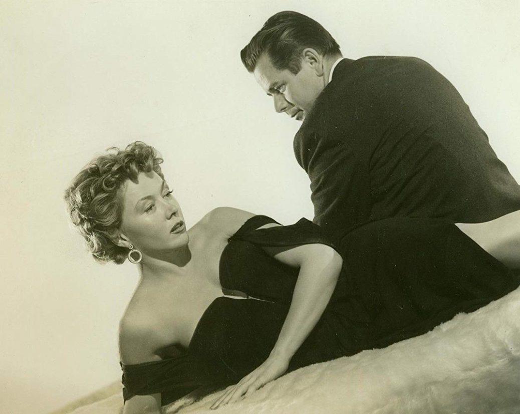 Glenn Ford och Gloria Grahame.