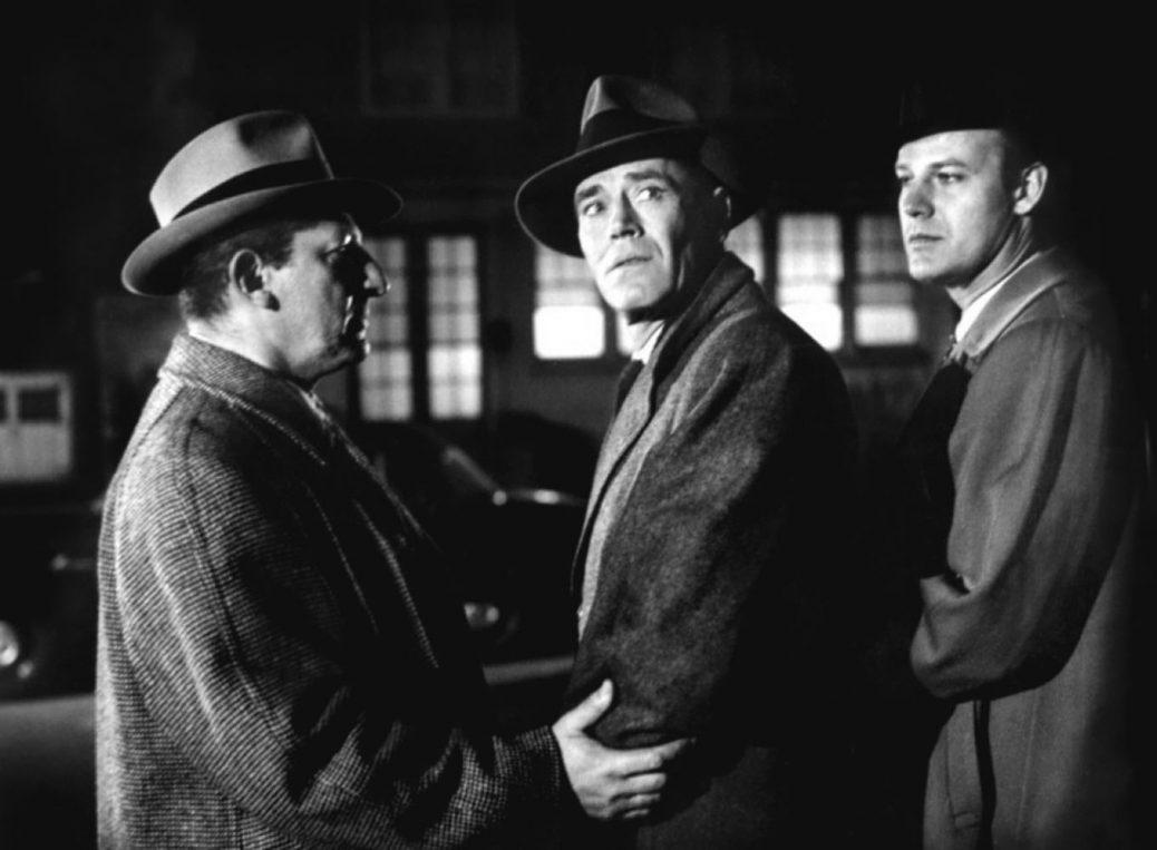 Henry Fonda och Vera Miles i Fel man.