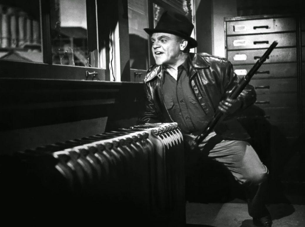 "James Cagney i ""White Heat""."