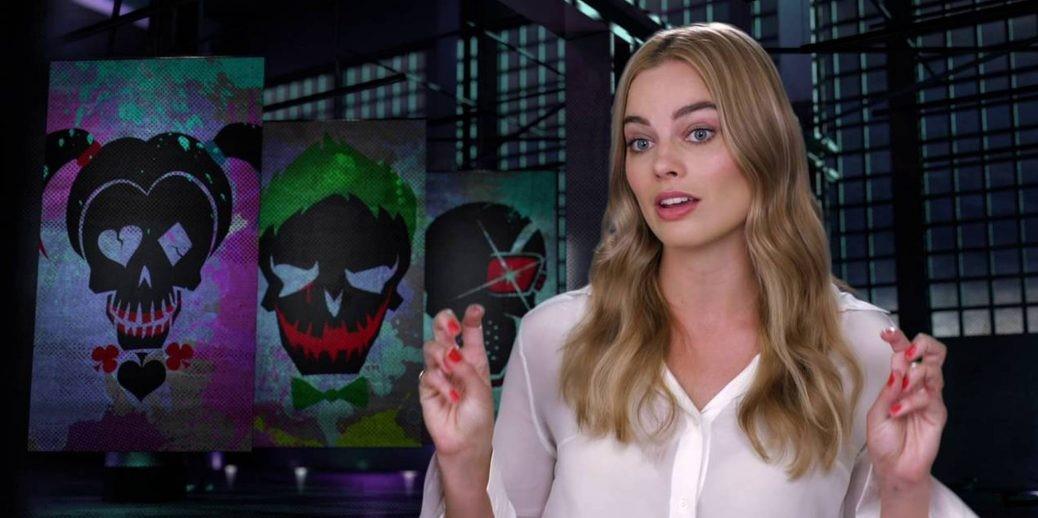 På bilden ser vi Margot Robbie som spelar Harley Quinn