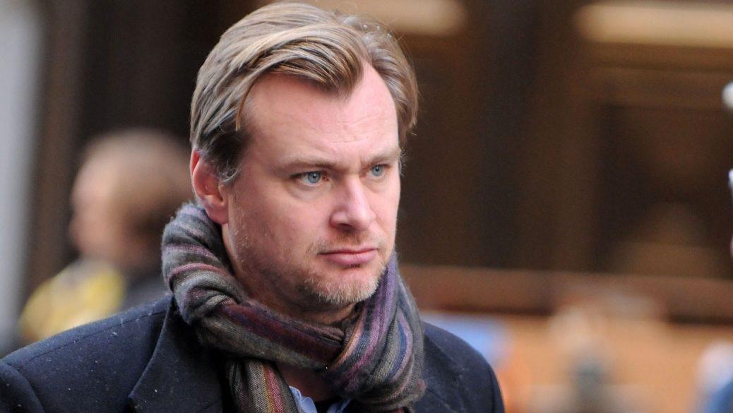 En bild på Christopher Nolan