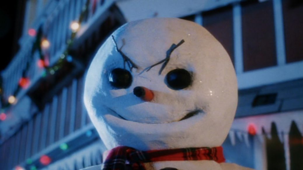 Skräckversion av snögubbe i Jack Frost