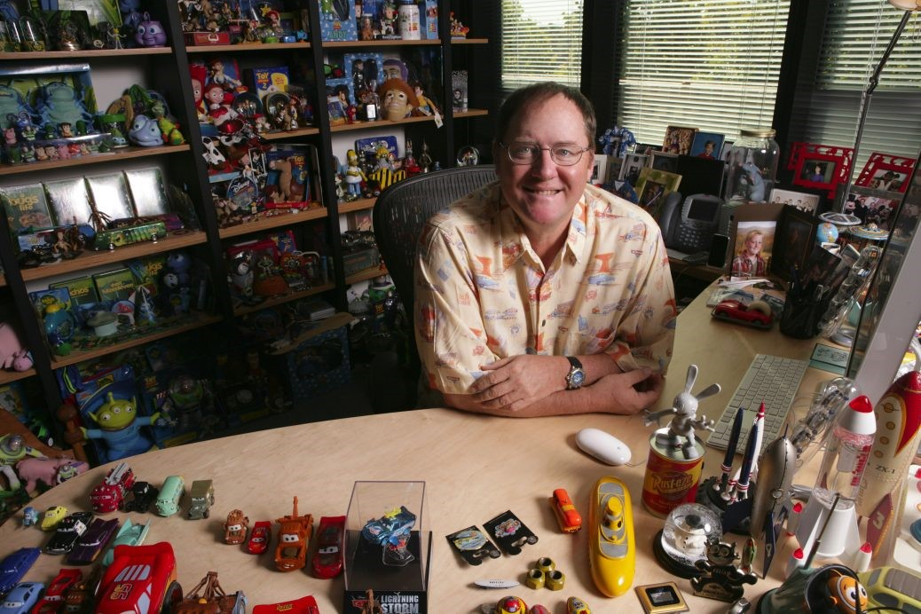 En bild av John Lasseter