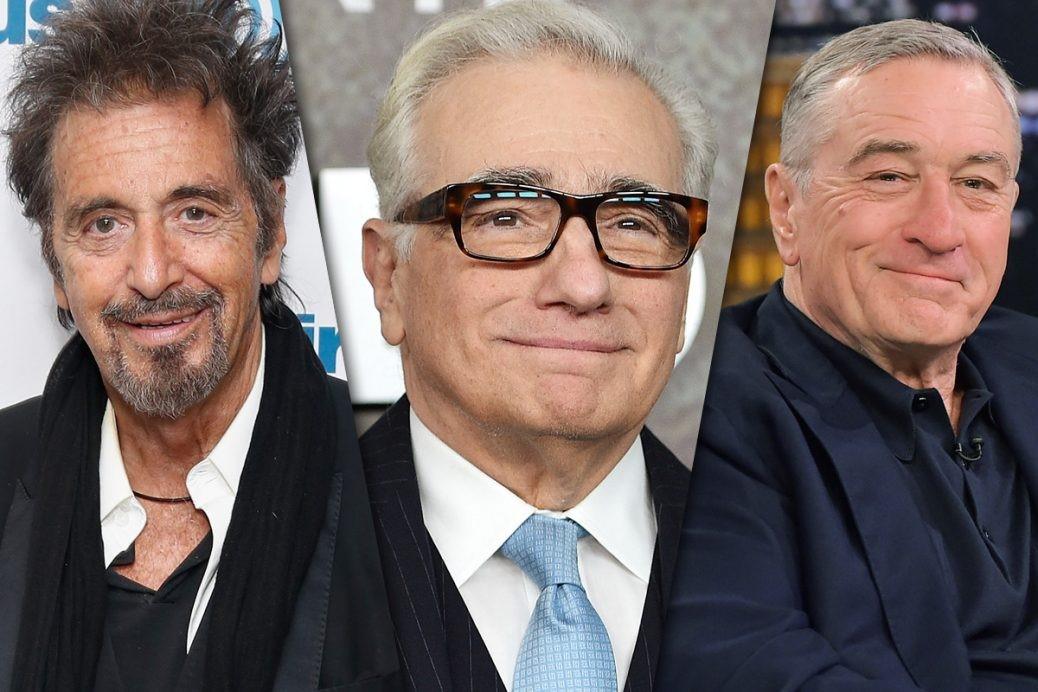 En bild på Martin Scorsese, Al Pachino och Robert De Niro