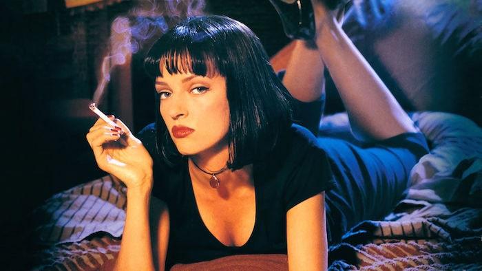 "Uma Thurman i ""Pulp Fiction"""
