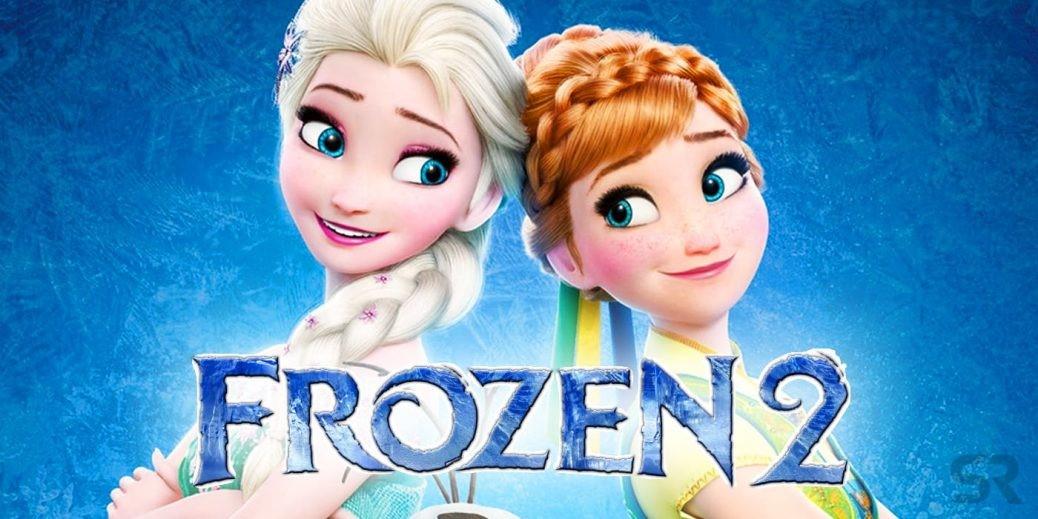 En bild på karaktärerna Anna och Elsa i Frozen 2