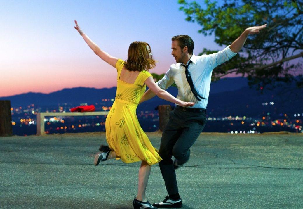 "Emma Stone och Ryan Gosling i ""La La Land""."