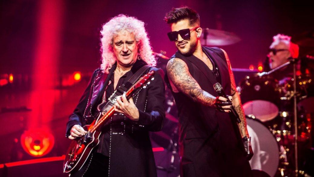 En bild på Adam Lambert i Queen