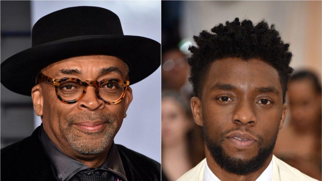 Chadwick Boseman & Spike Lee