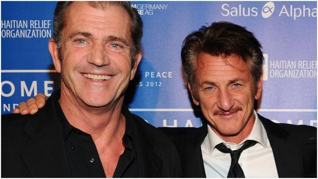 Bild på Mel Gibson och Sean Penn