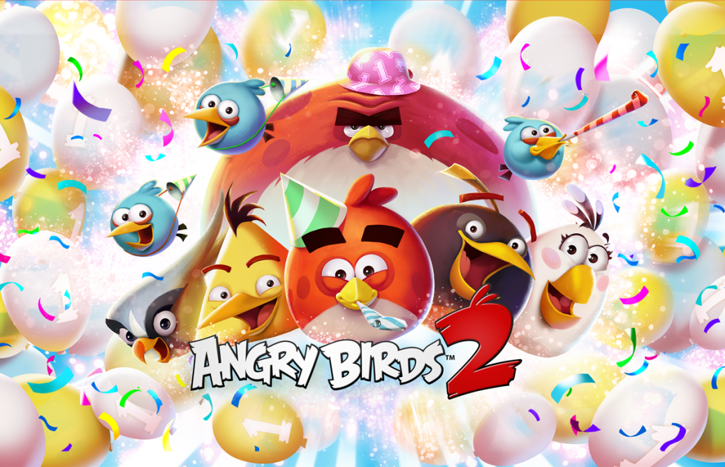 Poster till Angry Birds 2